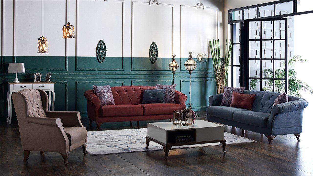 Indigo Koltuk Takimi Mondi Mobilya Yatak Baza Ev Tekstili Koltuktakimlari Rapsodi Yemekodasitakimlari Yatakodasitakimlari Furniture Sofa Furniture Design
