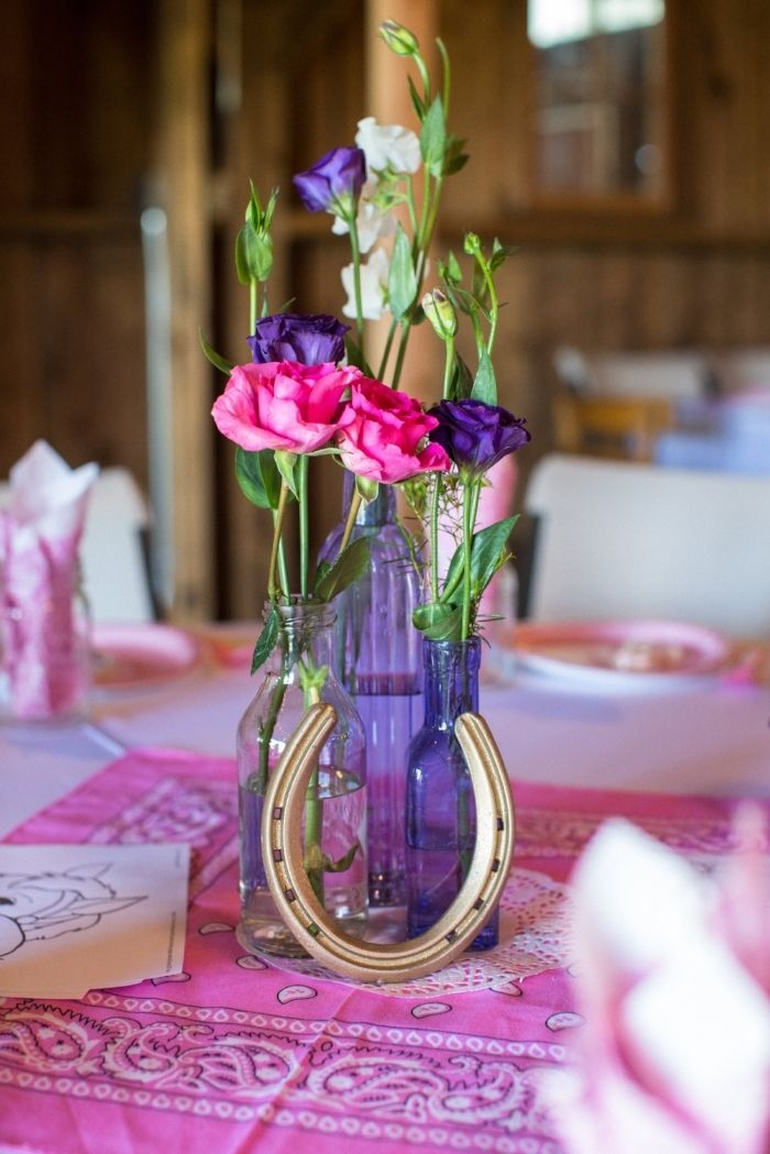 Pink Purple Paisley Cowgirl Birthday Party Free Party