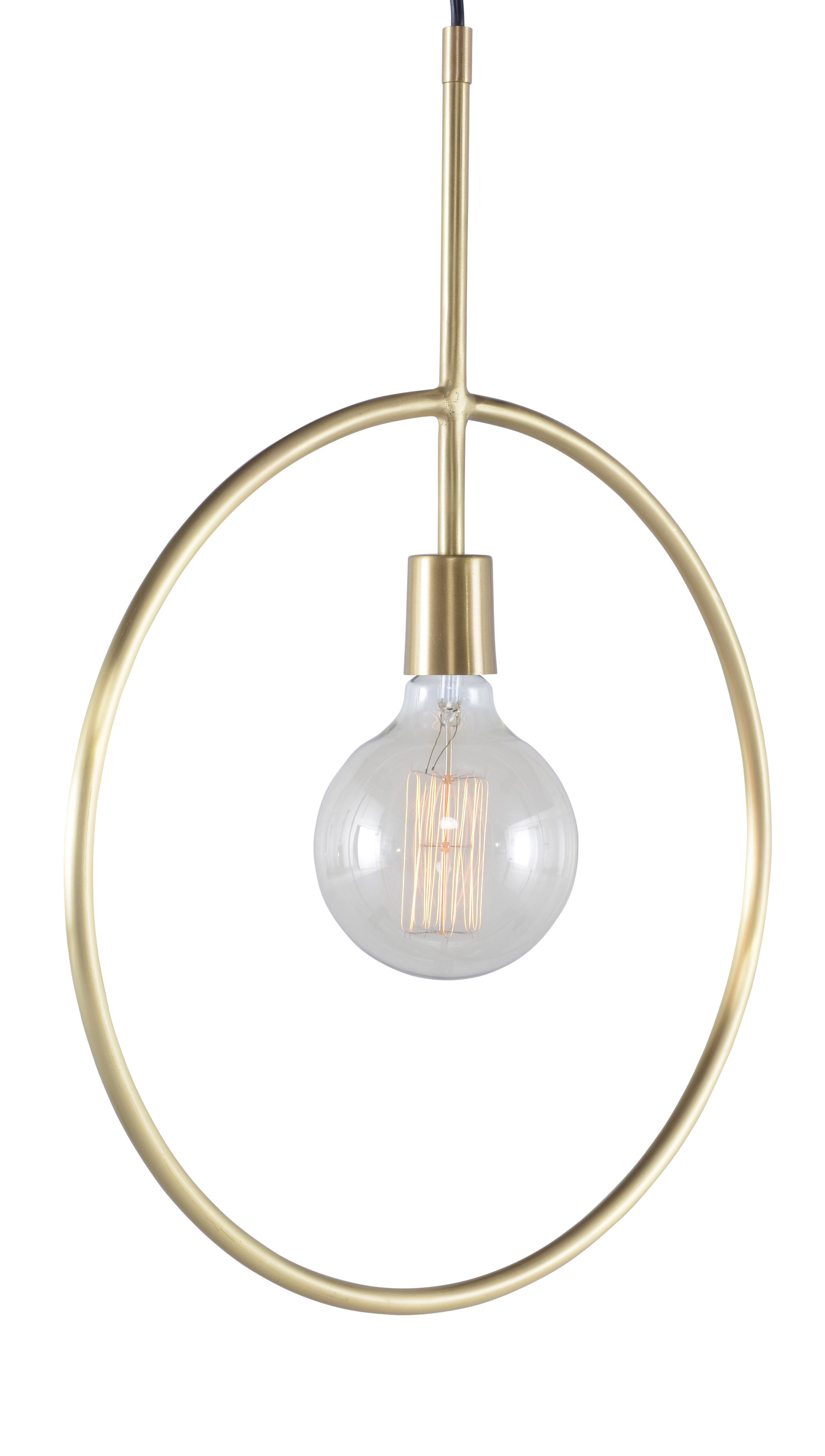 Glamour Meets Industrial Chic With The Nina Pendant A Gold