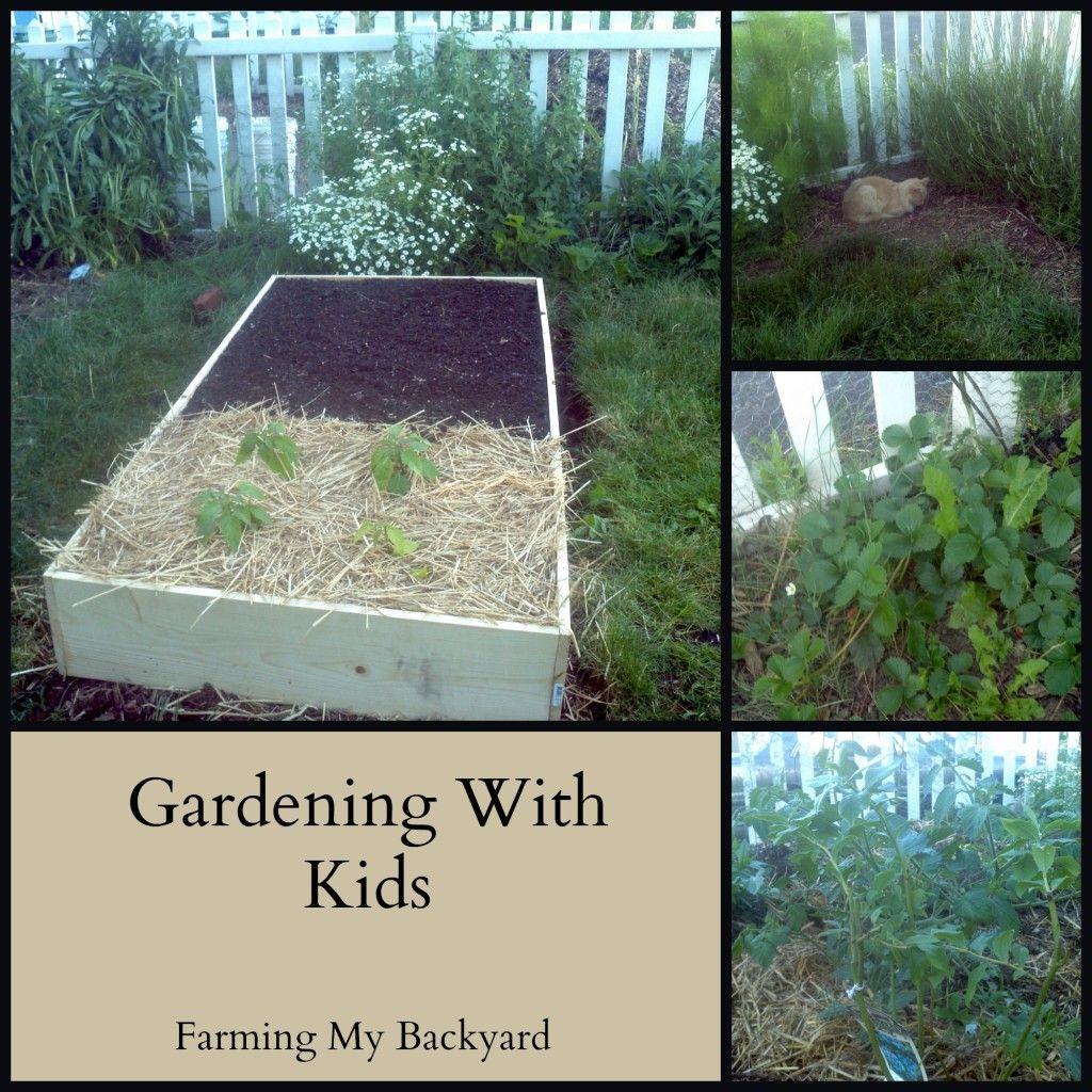Gardening With Kids @ Farming My Backyard