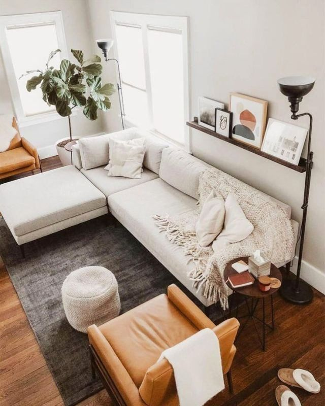 Simple Modern Living Room Design In 2020 Living Room
