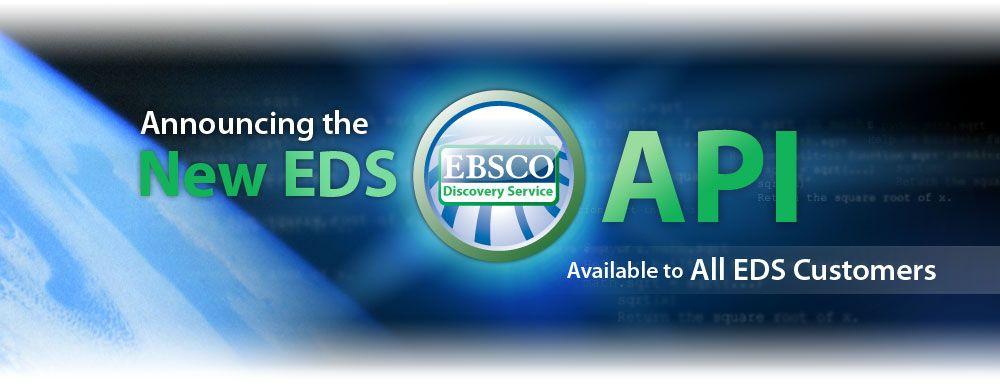 EBSCO Discovery Service API