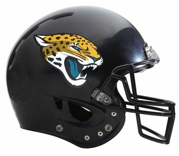 Jacksonville Jaguars Logo Helmet Jacksonville Jaguars