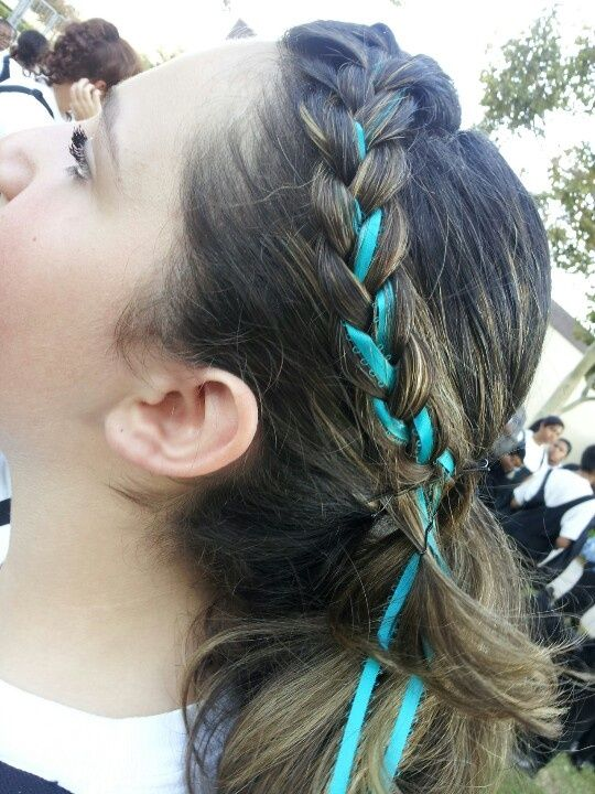 Ribbons In Your Hair Braiding Your Ribbon In Your Braid Hair With Images Hair Hair Today Gone Tomorrow Braided Hairstyles