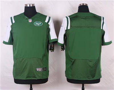 809ccdb55 Nike New York Jets Blank Green Elite Jersey