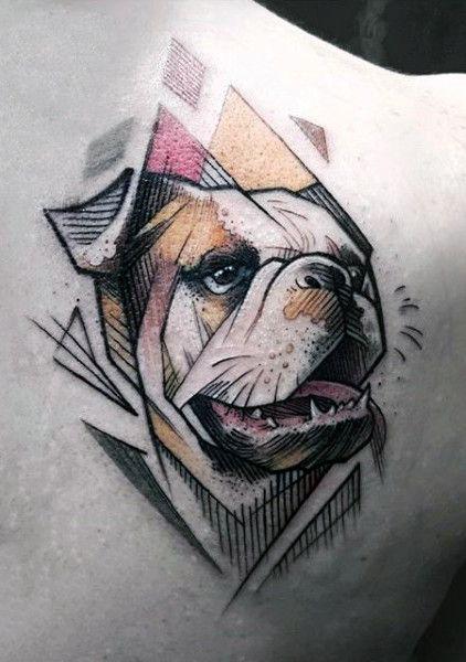 100 Dog Tattoos For Men - Creative Canine Ink Design Ideas | Ink me ...