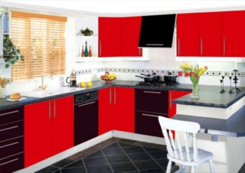 Red And Black Kitchen Decor Black And Red Kitchen Designs Black Kitchen Decor Yellow Kitchen Decor Kitchen Decor Grey