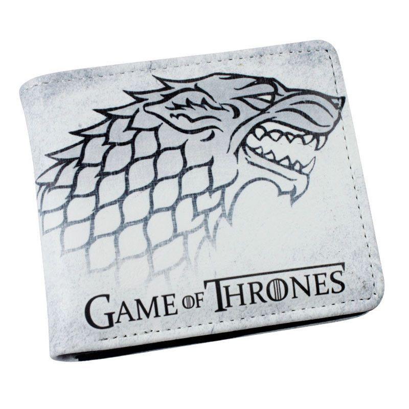 Game of Thrones House Stark White Short Wallet