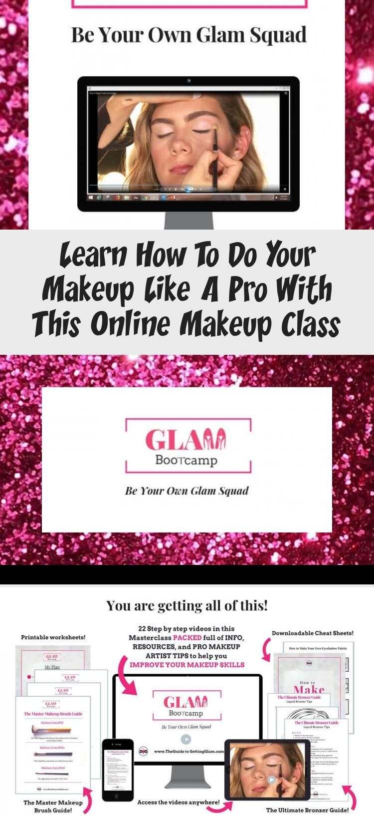 learn how to apply makeup like a pro! in this online makeup