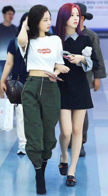 BLACKPINKジェニの私服がおしゃれ!コーデ画像まとめ | 韓流diary #kpopfashion