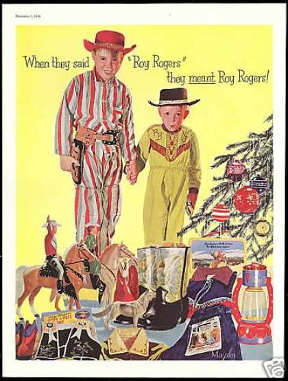 1950 Christmas Toys For Boys : Roy rogers christmas cowboy boots l i was