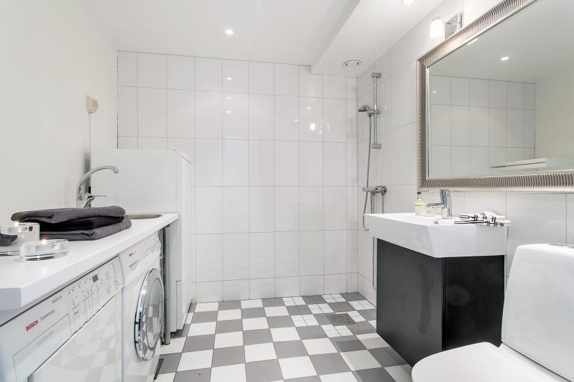 Studio karin vÅr nya tvÄttstuga slash badrum bathroom
