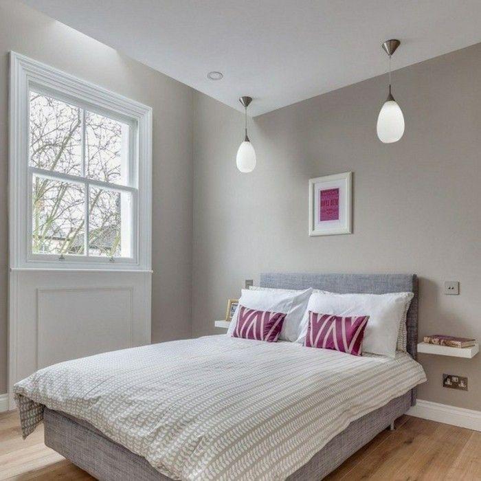 Schlafzimmer Wandfarbe Ideen in 140 Fotos! Schlafzimmer