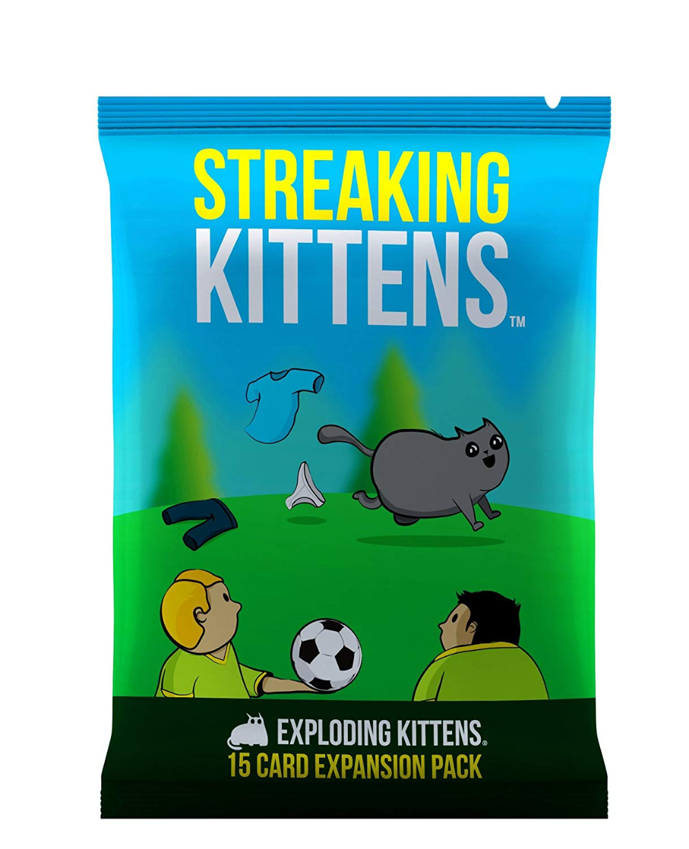 Amazon Com Exploding Kittens Card Game Family Friendly Party Games Card Games For A Exploding Kittens Card Game Exploding Kittens Happy Families Card Game