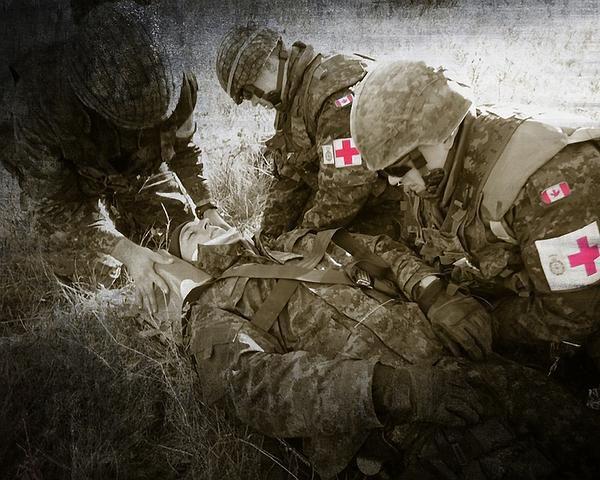 Combat Medics Photograph By Peter J Coyle Combat Medics Fine Art