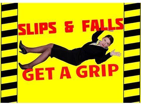 Don't Slip, Get a Grip - Trips, Slips & Falls - Slip & Fall ACCIDENT PREVENTION, TESTING IMPACT, CRASH TESTS -ΑΤΥΧΗΜΑΤΑ,ΑΤΥΧΗΜΑΤΩΝ ΠΡΟΛΗΨΗ, ΔΟΚΙΜΕΣ ΠΡΟΣΚΟΥΣΗΣPrevention