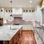 Does your kitchen feature engineered quartz? If so, learn how to clean quartz countertops so that they shine for years. http://www.bobvila.com/articles/how-to-clean-quartz-countertops/