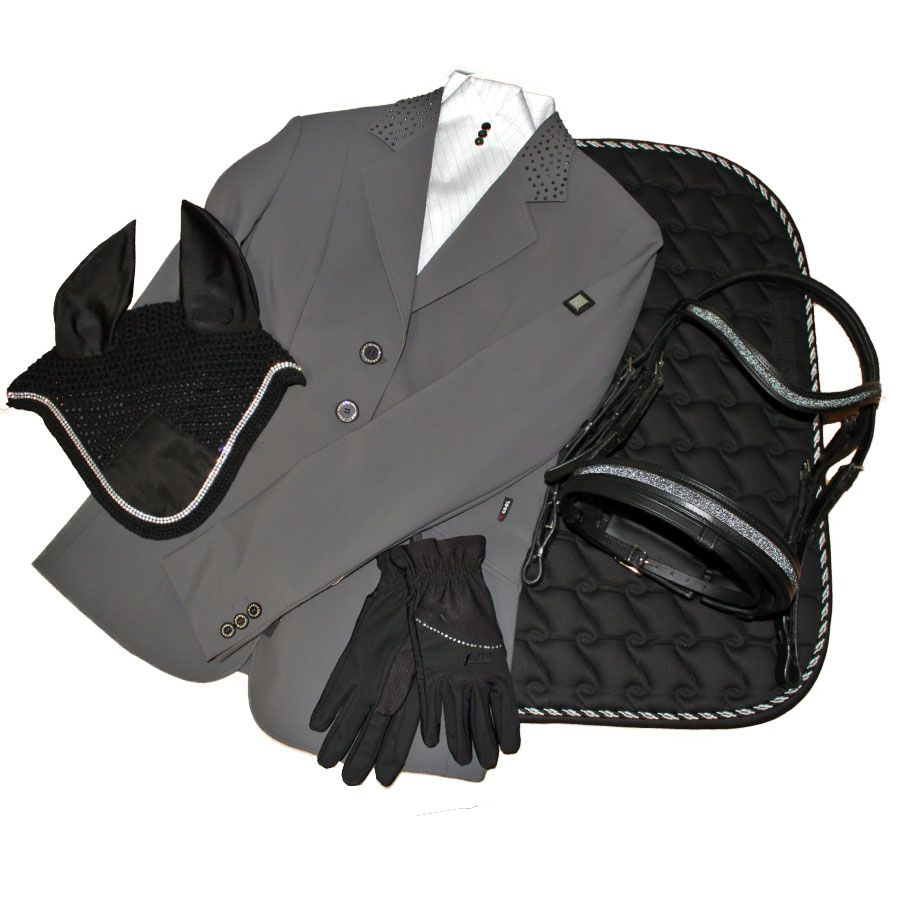 Outfit of the Day: Equiline Gioia Show Jacket, Silver