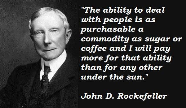 John D Rockefeller Quotes John D. Rockefeller quote #8 | quotes | Quotes, Business quotes  John D Rockefeller Quotes