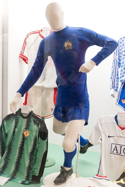 the latest e545e bc4f5 Brian Kidd's European Cup final kit, 1968 (courtesy of Brian ...