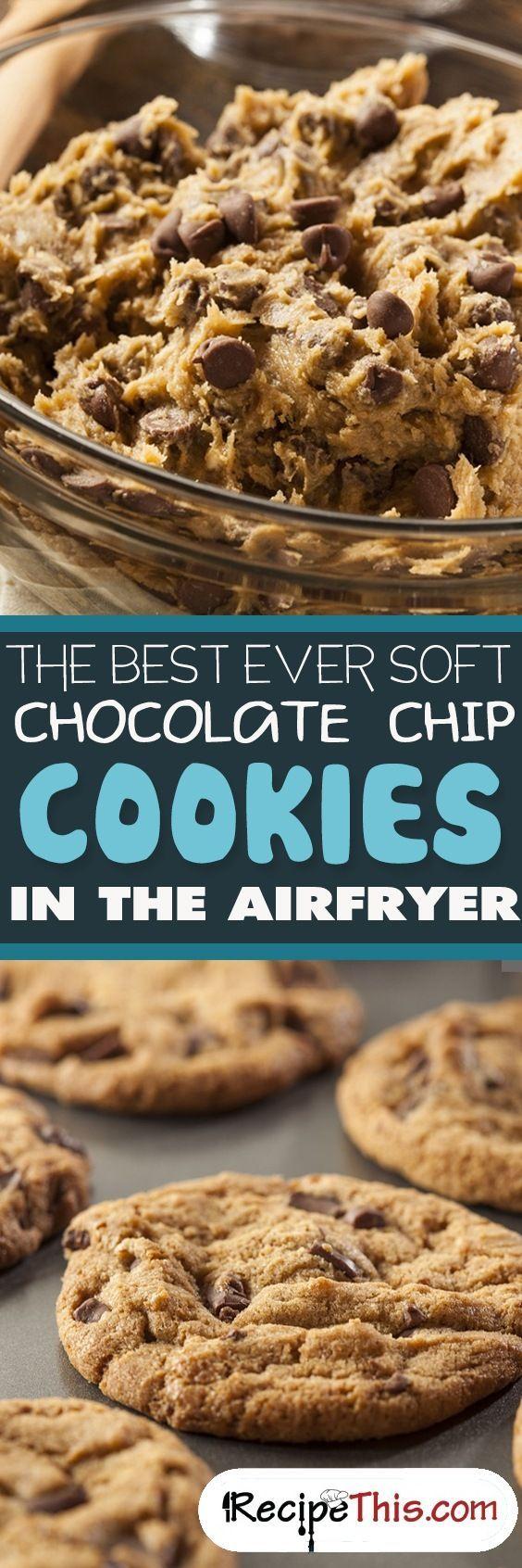 Air Fryer Chocolate Chip Cookies Recipe Air Fryer