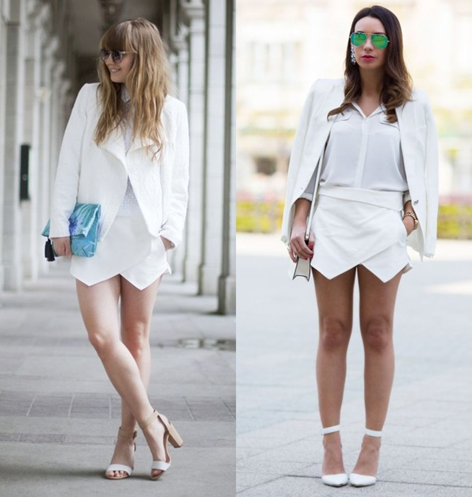m0de femme blog outfits origami shorts origami skorts