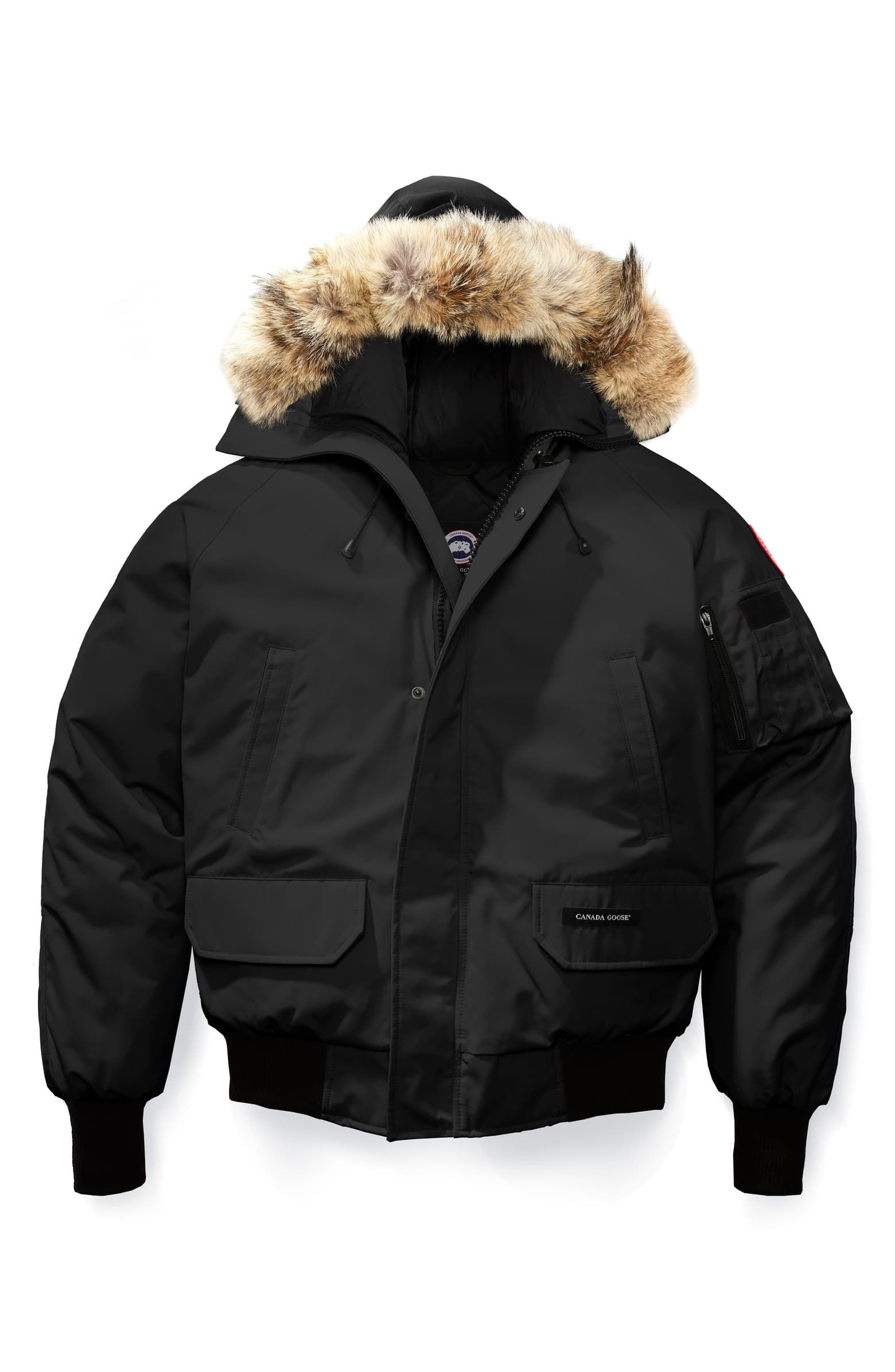 Canada Goose Chilliwack Down Bomber Jacket With Genuine Coyote Fur Trim Nordstrom Canada Goose Mens Canada Goose Chilliwack Down Parka [ 2392 x 1560 Pixel ]