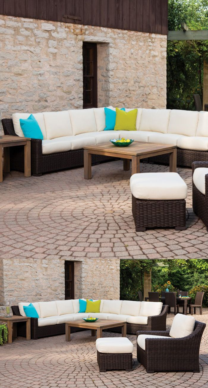 Lloyd Flanders Mesa Collection   Deep Seating Patio Furniture   Outdoor  Sectional Furniture   Patio Furniture