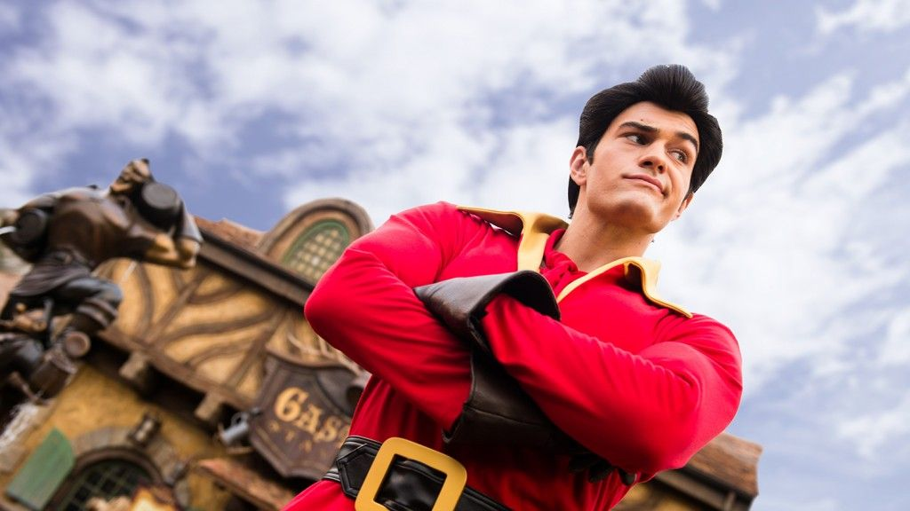 Meet Gaston at the Magic Kingdom Walt Disney World