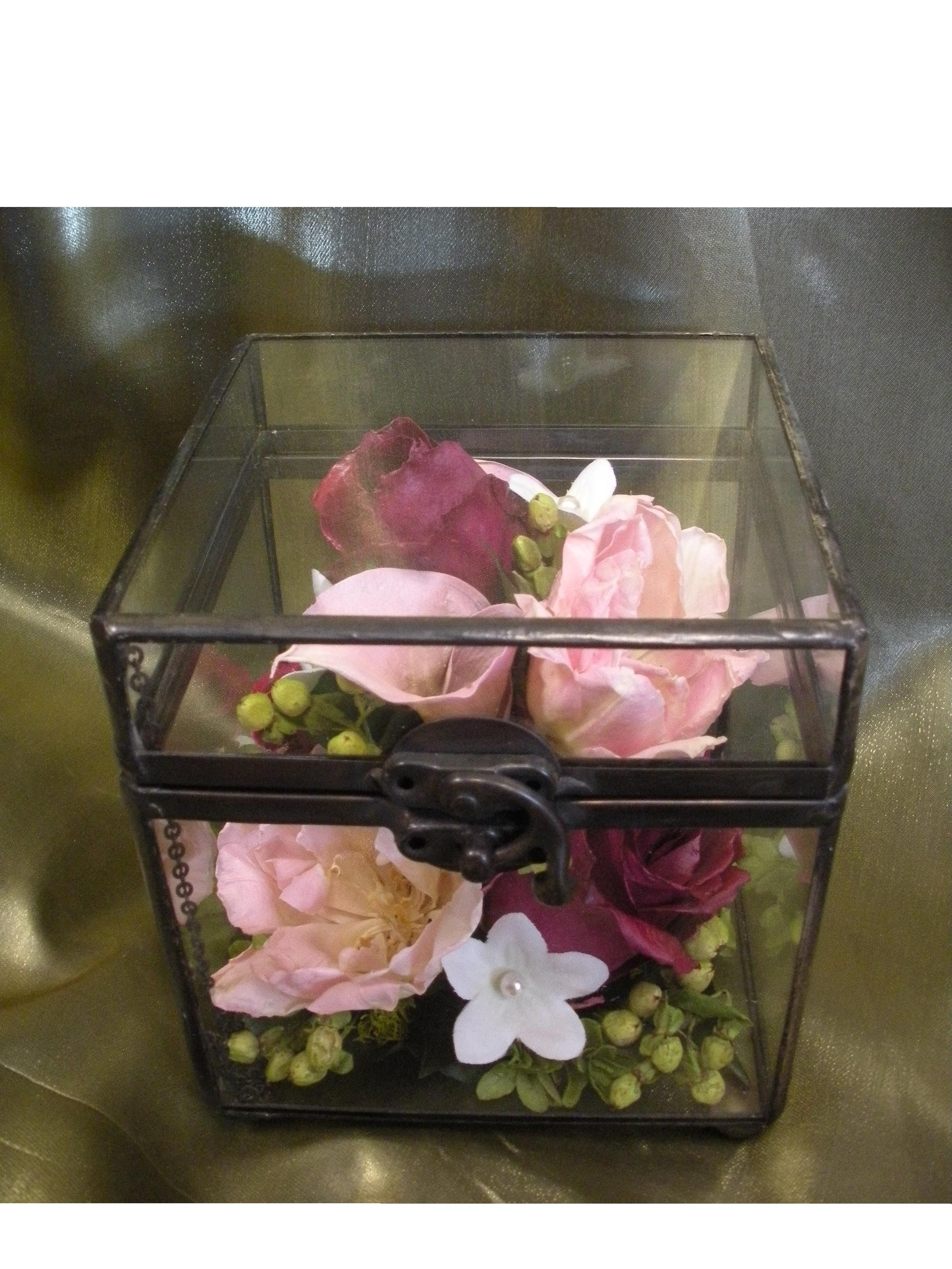 Preserved Wedding Flowers In A Glass Box Facebook