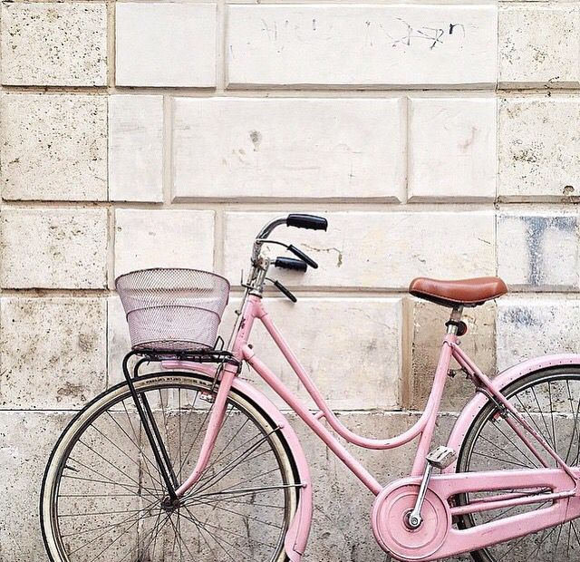 Pin By Mode And The City On Bikes Pink Bike Pink Bicycle Pretty Bike