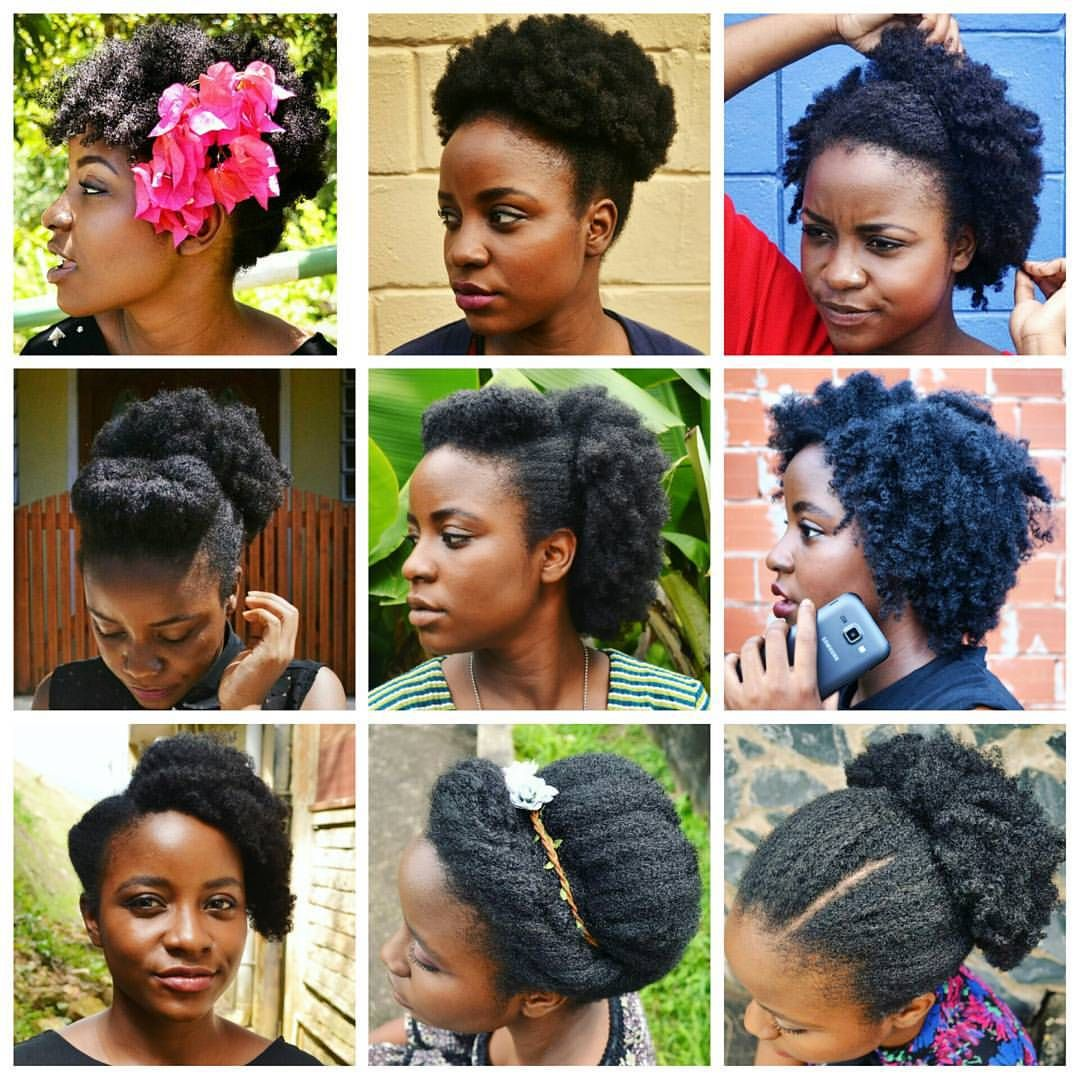 versatility of 4c hair. beautiful hair is healthy hair no