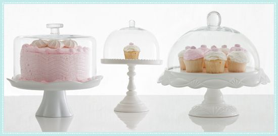 Rosanna Cake Domes and Cake Stands for Tabletop & Rosanna White Pedestals with Optional Dome   LG Blog   Pinterest ...