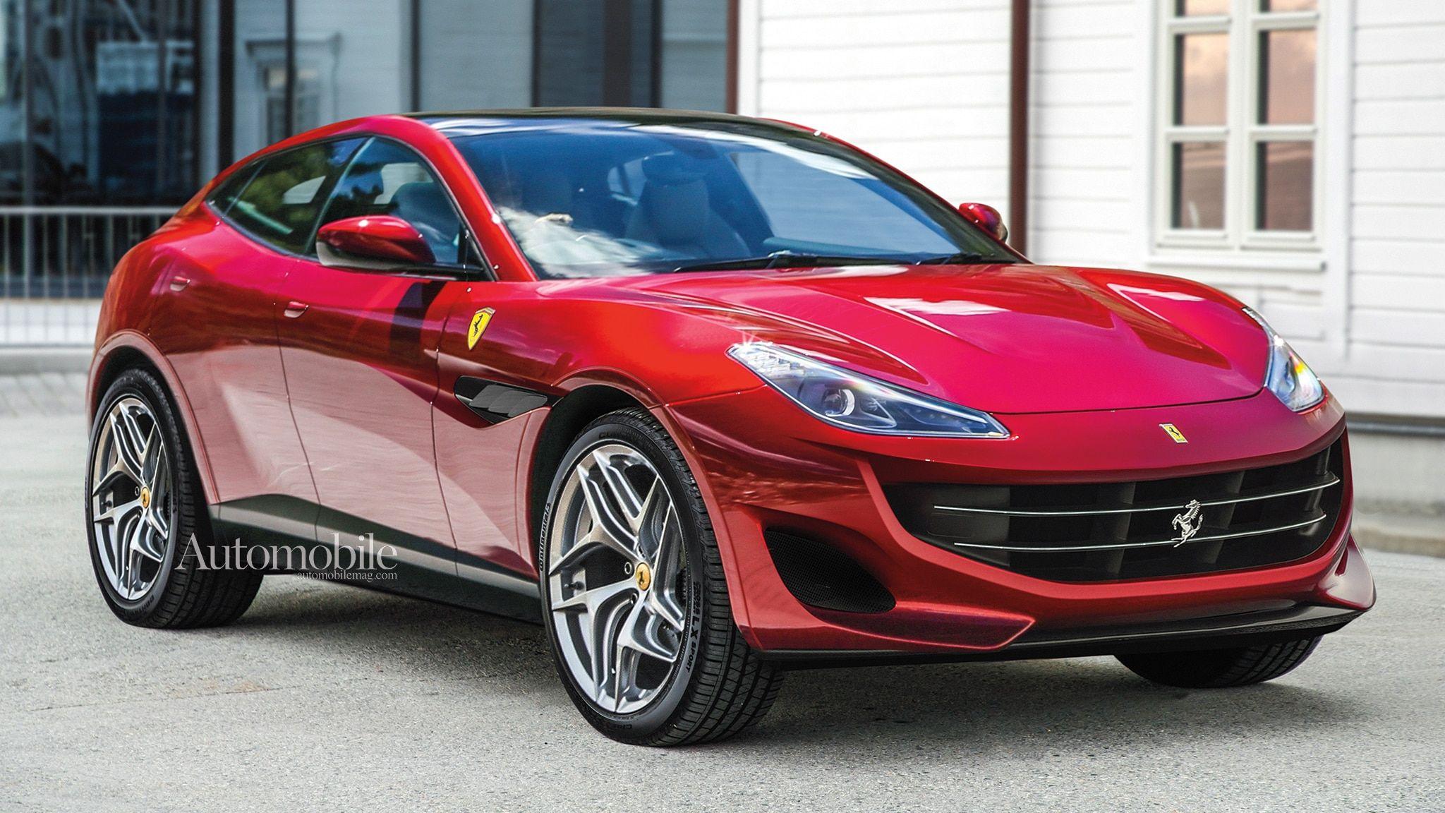 2022 Ferrari Purosangue Suv Renderings Rumors Automobile Magazine Motortrend New Ferrari Ferrari Ferrari Car