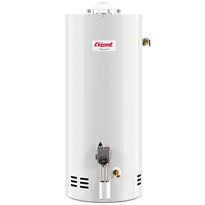 Giant Gas Water Heater Atmospheric 32 000btu 30 Gal Gg30 32mf1 N2u Rona With Images Gas Water Heater Locker Storage Water Heater