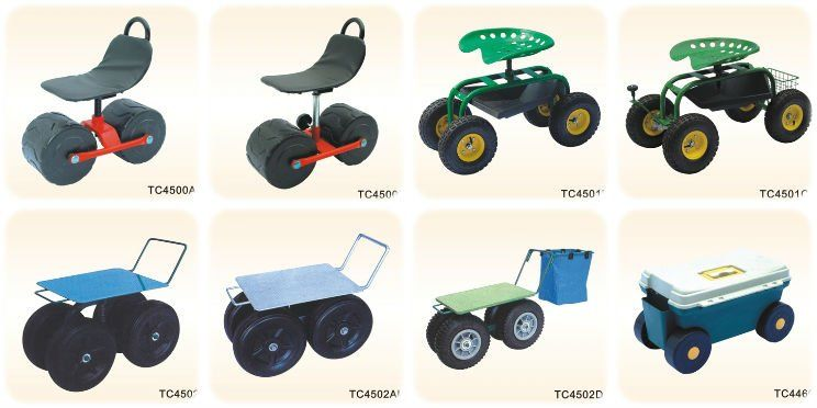 Gardening Chairs On Wheels Google Search With Images Garden Seating Raised Garden Beds Garden Tool Shed