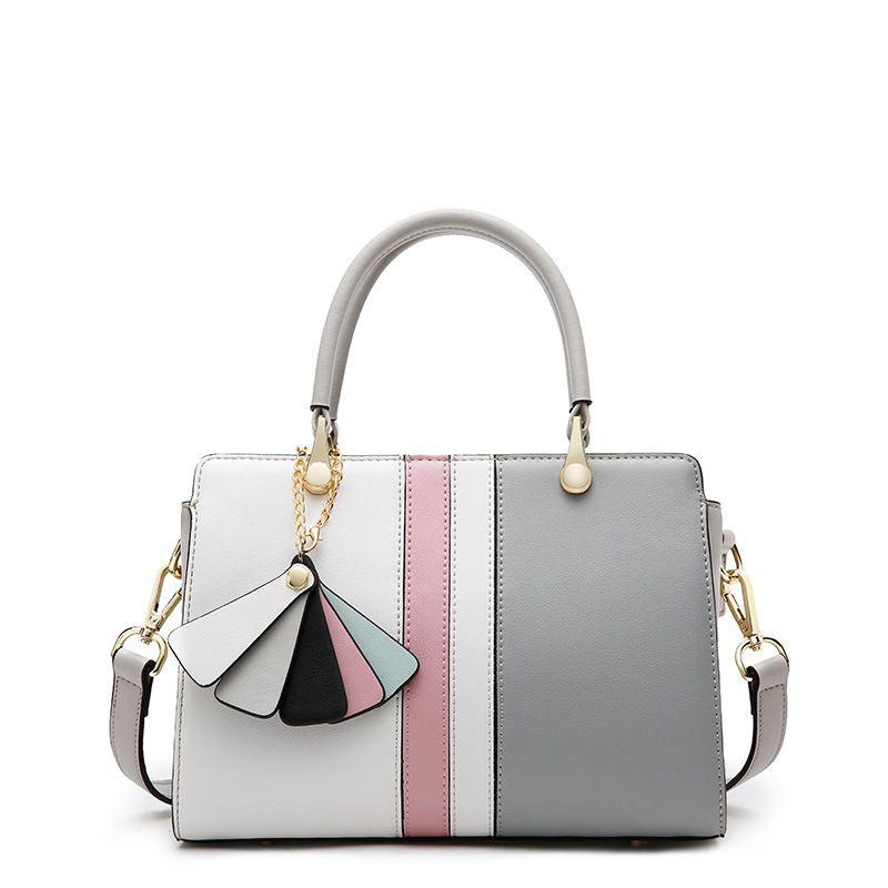 2018 wholesale fashion design Multicolor genuine leather women s bag  beautiful women bag leather handbag cf970edff851d