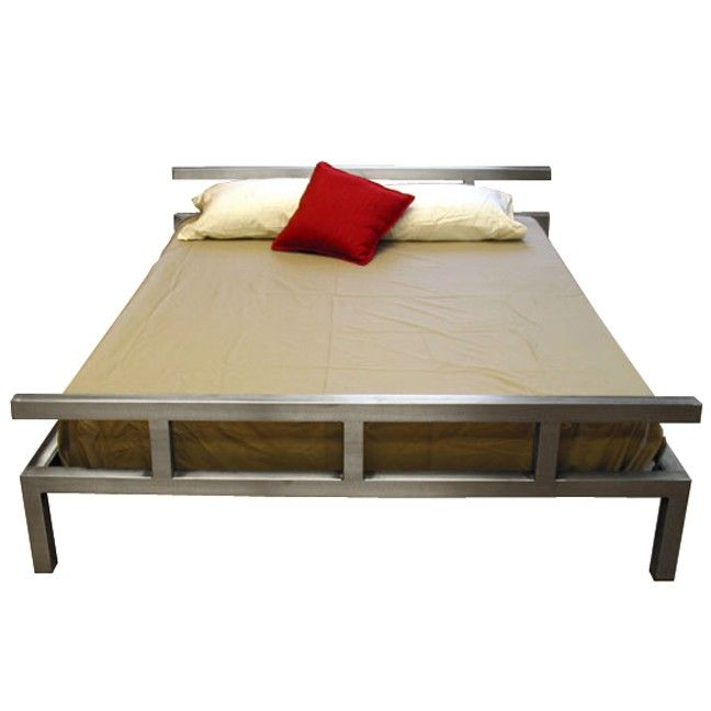 Stainless Steel Platform Bed Stainless Steel By Boltz Beds