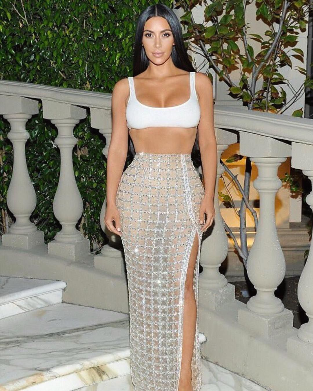 bbc5b4f9cd63 Kim Kardashian at BALMAIN celebrates first Los Angeles boutique opening and  Beats by Dre collaboration on July 2017 in Beverly Hills
