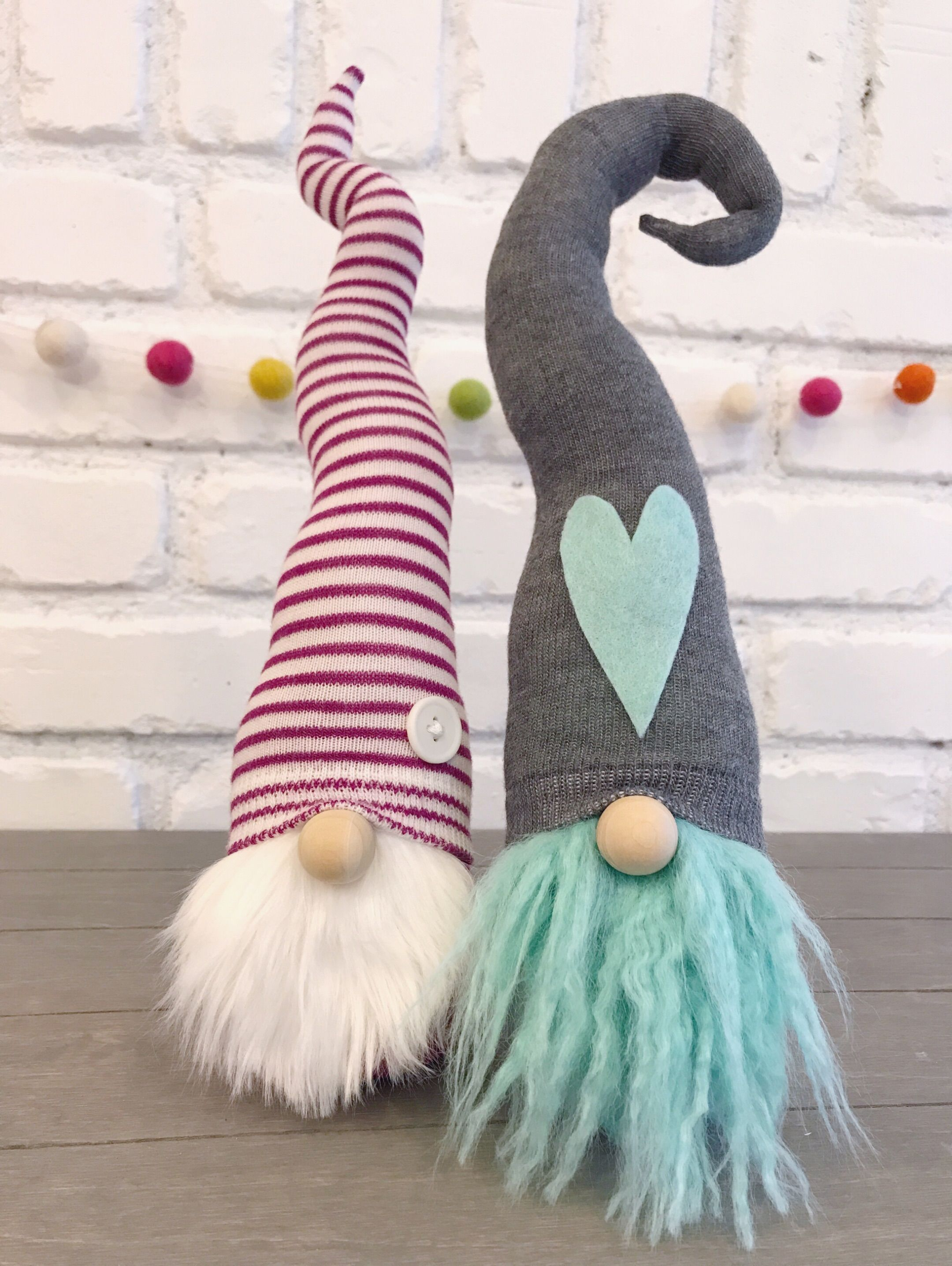 Adorable gnomes for any occasion. Find us at www.homesweetgnome.com. Sign up for our email list for exclusive subscriber only gnome drops. #christmasgnomes