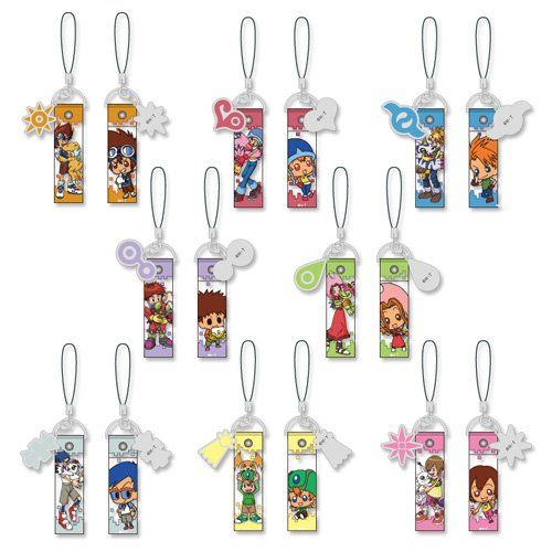 Digimon Adventure Trading Crest Strap (1 Random Blind Box). Digimon Adventure Trading Crest Strap (1 Random Blind Box).