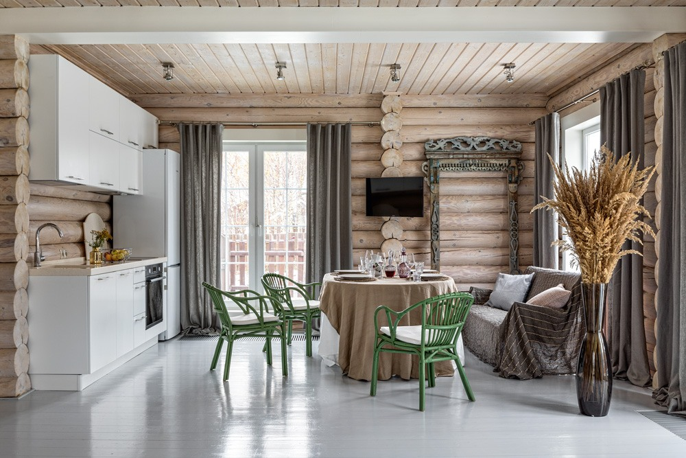скандинавский интерьер деревянного дома: 5 тыс изображений ...