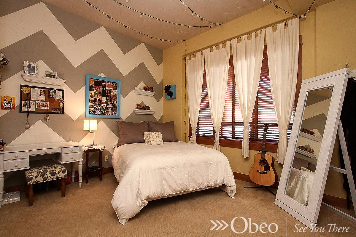 If you'd like some bedroom decorating ideas, be sure to check out our entire board of Magical Bedrooms!