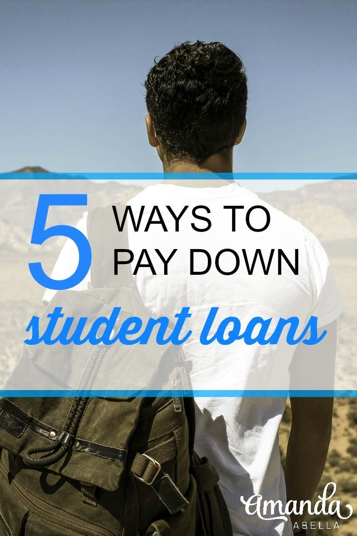 5 ways to pay down student loan and credit card debt