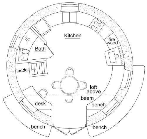 Peace Dome Earthbag House Earth Bag Homes How To Plan