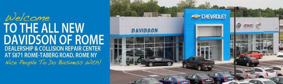 Davidson Chevrolet Rome Ny