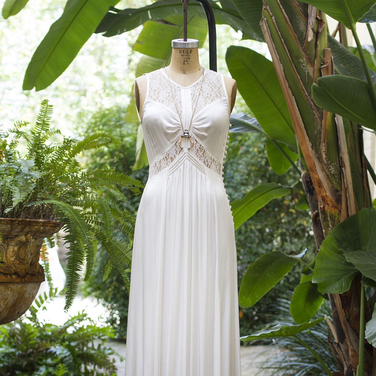 Beautiful As A Wedding Gown Or For Special Events The Elvita Dress Is Total
