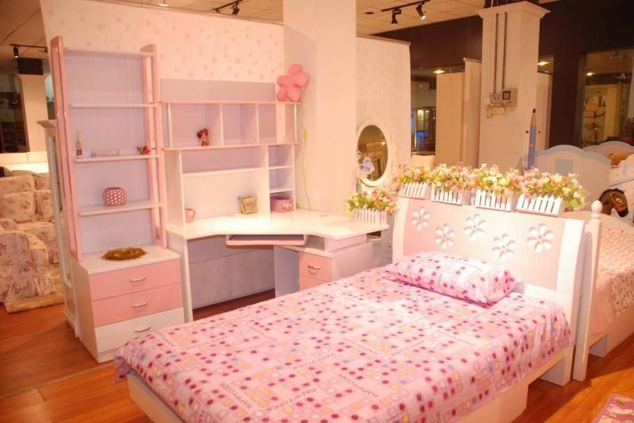 Kid Bedroom Designs Korean Pink Interior Design Ideas Bedroom