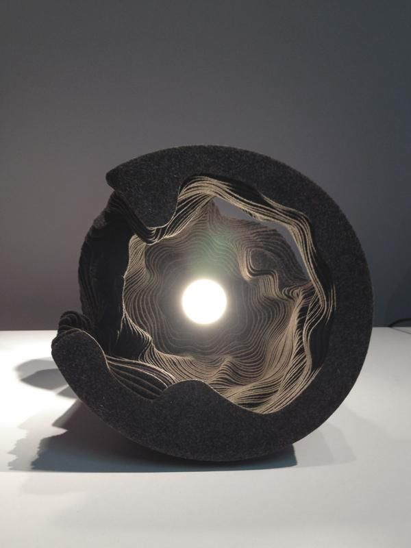 Felt Light By Snarkitecture Made By Stacking Layers Of