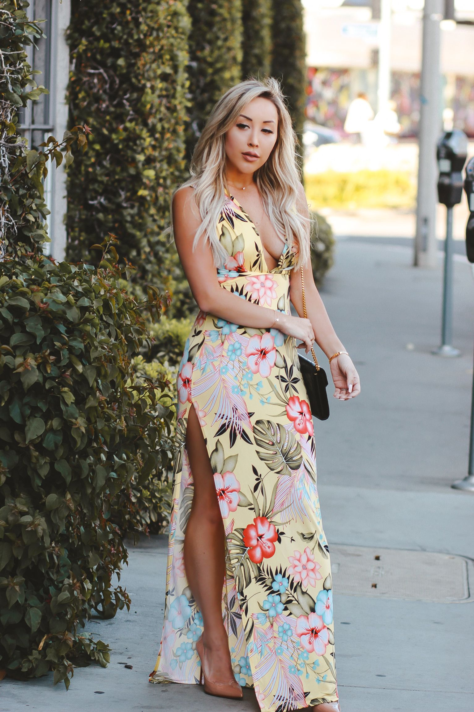 The Perfect Dress For Hawaii - Tropical Dress - Vacation